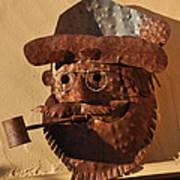 Tin Man With Pipe Art Print