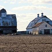 Tin Roof Farm Art Print