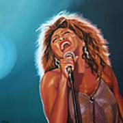 Tina Turner 3 Art Print