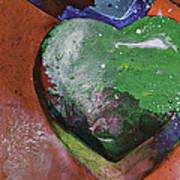 Tina's Heart Art Print