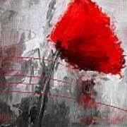 Tint Of Red Art Print