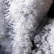 Tiny Ice Art Print