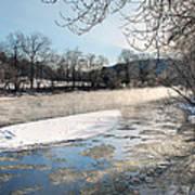 Tioughnioga River Landscape Art Print