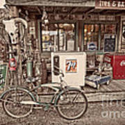 Tire And Battery Service Art Print