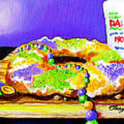 Tis Da Season Mista Art Print by Terry J Marks Sr