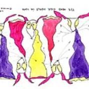 Tis Head Over Heels In Love Art Print