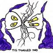 Tis Tangled Two Art Print