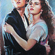 Titanic Jack And Rose Art Print