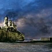Titanic Late Arrival Art Print