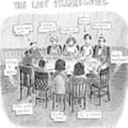 The Last Thanksgiving Art Print