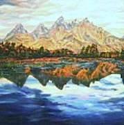 Titon Reflections Art Print