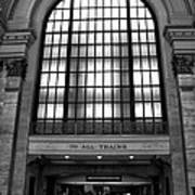 To All Trains Chicago Union Station Art Print