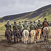 To Ride The Paths Of Legions Unknown Art Print