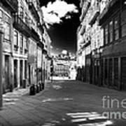 To The Light In Porto Art Print