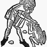 Toadstone, 1491 Art Print
