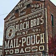 Tobacciana - Mail Pouch Tobacco Art Print