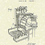 Tobacco Machine 1932 Patent Art Art Print