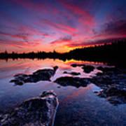 Tobermory Sunset 2 Art Print