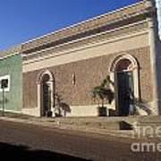 Todos Santos Buildings Mexico Art Print