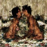 Together Art Print by Kurt Van Wagner