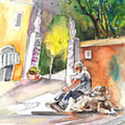 Together Old  In Italy 04 Art Print