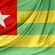 Togo Flag Art Print
