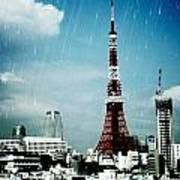 Tokyo Eiffel  Art Print