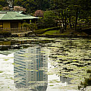 Tokyo Reflection Art Print
