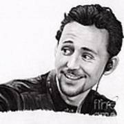 Tom Hiddleston 2 Art Print