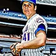 Tom Seaver Art Print