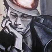 Tom Waits One Art Print