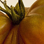 Tomato Macro Art Print