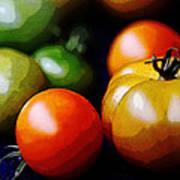 10044 Tomatoes Art Print