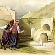 Tomb Of Joseph At Shechem 1839 Art Print