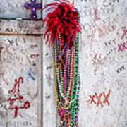 Tomb Of Marie Laveau New Orleans Art Print