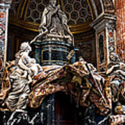 Tomb Of Pope Alexander Vii By Bernini Art Print