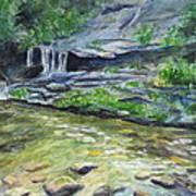 Tom Branch Falls Art Print