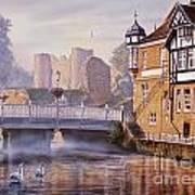 Tonbridge Castle Art Print