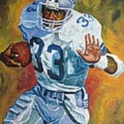 Tony Dorsett - Dallas Cowboys  Art Print