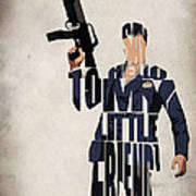 Tony Montana - Al Pacino Art Print