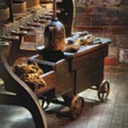Tool Cart Art Print