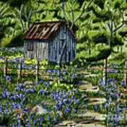 Tool Shed Print by Robert Thornton