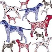 Top Dogs Art Print