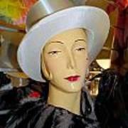 Top Hat Tallulah Art Print