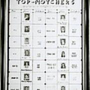 Top Notchers Art Print