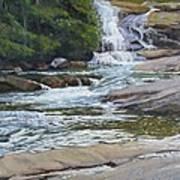 Top Of Triple Falls Art Print