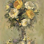 Topiary Bouquet 1 Art Print