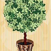 Topiary Tree Art Print