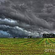 Tornado Over Madison 5 Art Print
