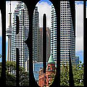 Toronto 1 Art Print